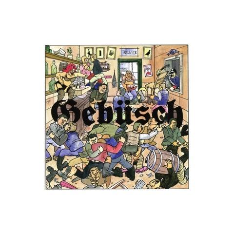 √Gebüsch von MC Bomber - CD jetzt im Proletik Shop